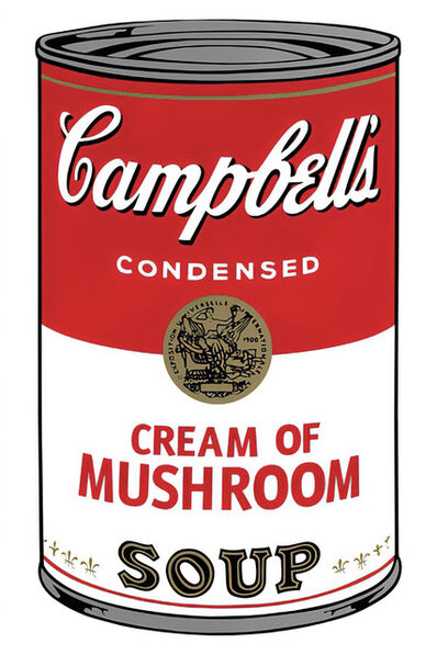 Andy Warhol, 'Campbell's Soup Can 11.53 (Mushroom)', 1960s printed after