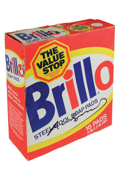 Andy Warhol, 'Brillo Box - Steel Wool Soap Pads - package', 1980 .