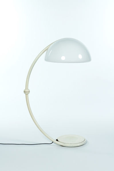 Elio Martinelli, 'Serpente floorlamp in metal and plastic', vers 1965