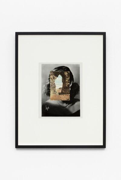 John Stezaker, 'Mask (Film Portrait Collage) CCXXXII', 2016