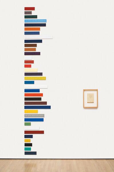 Francine Savard, 'Les Couleurs de Cézanne dans les mots de Rilke 36/100 – Essai', 1998