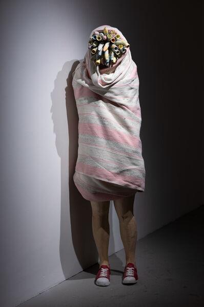Jean-Robert Drouillard, 'Silhouette emballée et contaminée (Rosalie)', 2020
