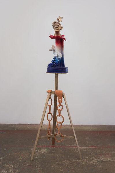 Alessandro Pessoli, 'Lizard Head', 2014