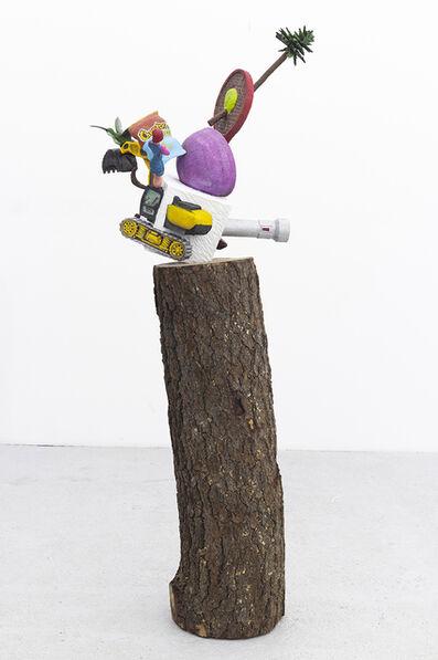 Gabriel Rico, 'Las cosas antiguas que nos pertenecen (Hexahedron/Cheetos)', 2021