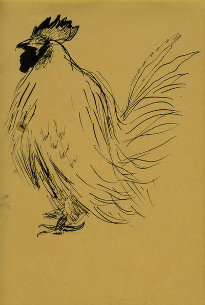 Renato Guttuso, 'Gallo', 1934