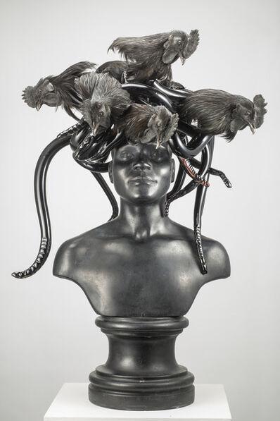 Koen Vanmechelen, 'Black Medusa', 2015