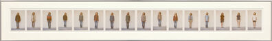 Charles Ray, 'All my clothes (in 16 parts)', 1973