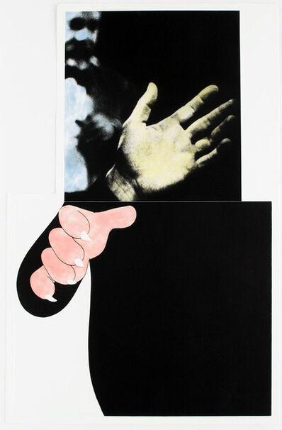 John Baldessari, 'Two Hands (with Distant Figure) ', 1989-1990