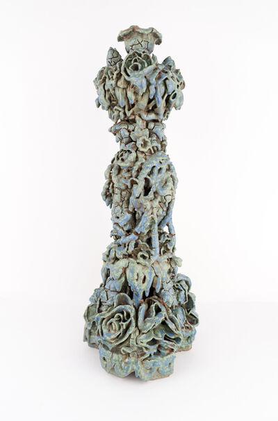 Anthony Sonnenberg, 'Candle Column (Modeled Blue/Green)', 2020