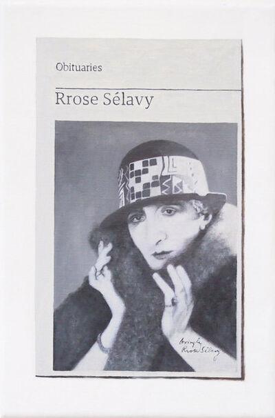 Hugh Mendes, 'Obituary: Rrose Sélavy', 2019