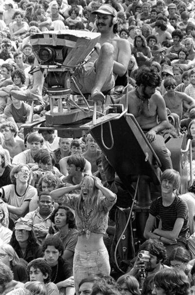 Baron Wolman, 'Woodstock 1969 Cameraman', 1969
