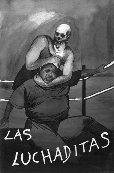 Hugo Crosthwaite, 'Tijuanerias #77 (Las Luchaditas)', 2011