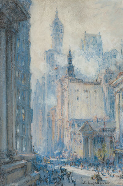 Colin Campbell Cooper, 'Broadway, New York'