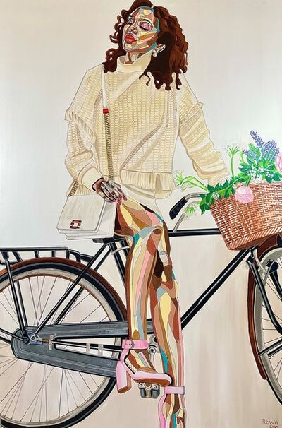REWA, 'Somadina with Bicycle', 2021