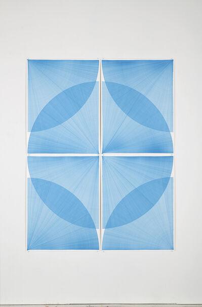 Thomas Trum, 'Two Blue Lines', 2020