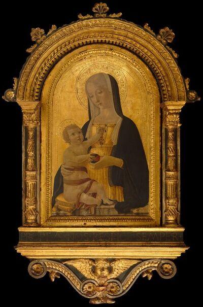 Benvenuto di Giovanni, 'Madonna and Child', ca. 1470