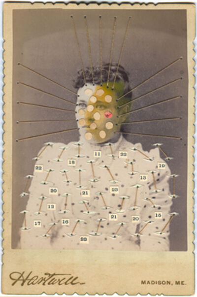 Emerson Cooper, 'Woman with Numbers', 2007-2010