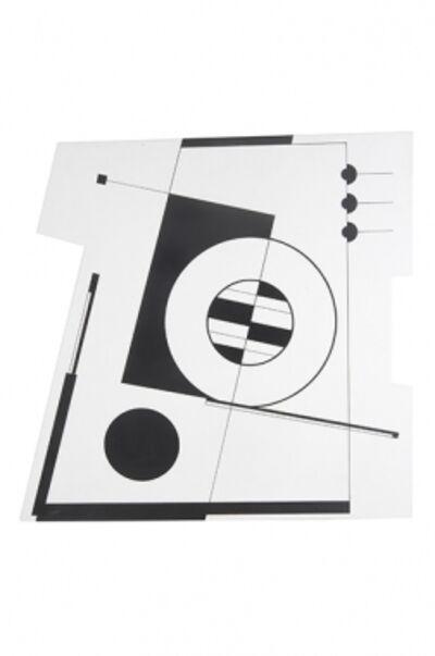 Carmelo Arden Quin, 'Composición Blanco y Negro', 2005