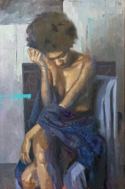 Carlos Antonio Rancaño, 'Blue Warmth', 2018