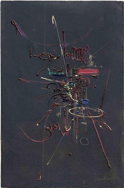 Georges Mathieu, 'Dyana', 1958