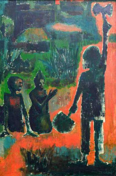 Jimoh Akolo, 'The god of Thunder', 1964