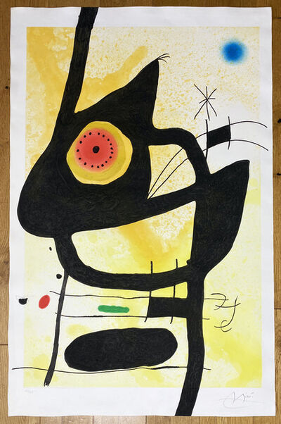 Joan Miró, ' La Femme des Sables', 1969