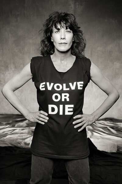 "Norman Seeff, 'Lily Tomlin, Los Angeles, ""Evolve or Die""', 1985"