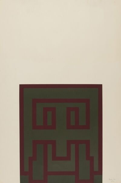Robyn Denny (1930-2014), 'Suite 66 III', 1966