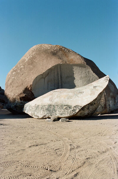 AMI SIOUX, ' Giant Rock, Landers, California.', 2014