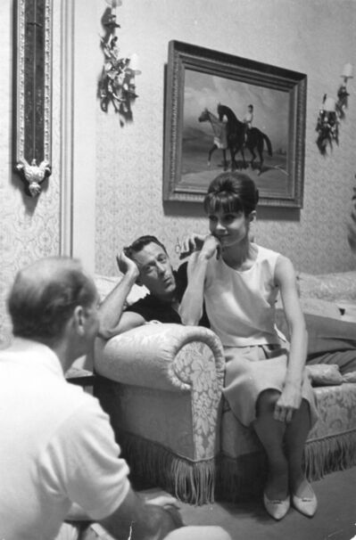 Unknown, 'Audrey Hepburn and William Holden on the Set of Paris When It Sizzles, Paris', 1962
