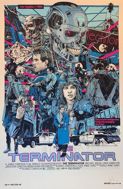 Tyler Stout, ' The Terminator By Artist Tyler Stout Arnold Schwarzenegger James Cameron Print ', 2020