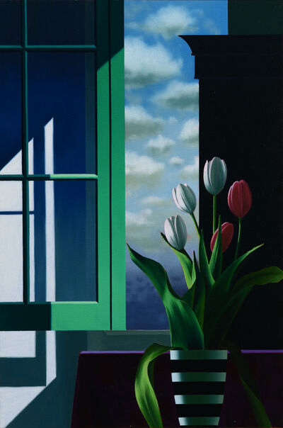 Bruce Cohen, 'Five Tulips in Front of Window ', 2020