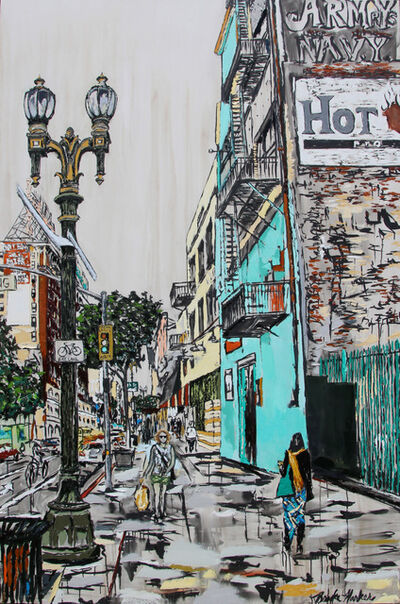 Brooke Harker, 'Downtown Stride', 2019