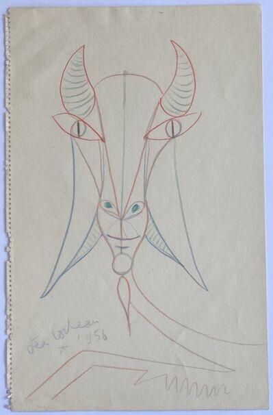 Jean Cocteau, 'Chèvre (Goat)', 1958