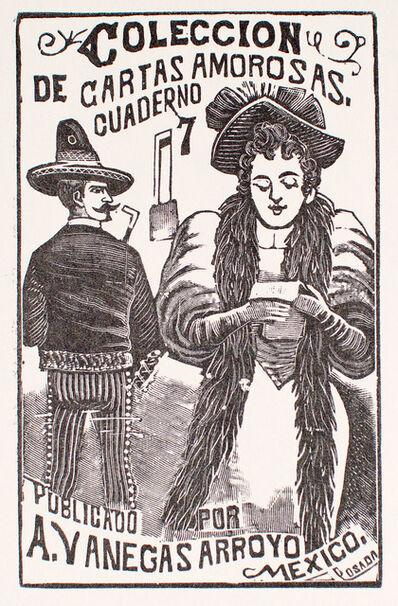 José Guadalupe Posada, 'Coleccion de Cuartas Amorosas Cuaderno 7', 1880-1910
