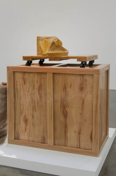 Jeanne Silverthorne, 'Soft Crate and Dolly', 2013