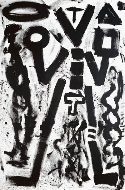"""A.R. Penck, '""""Standart-West KR 3""""', 1982"""