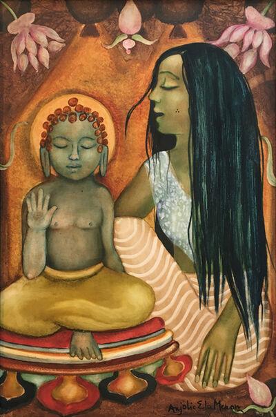 Anjolie Ela Menon, 'Divine Mothers Series-Maya with Guatama', 2016