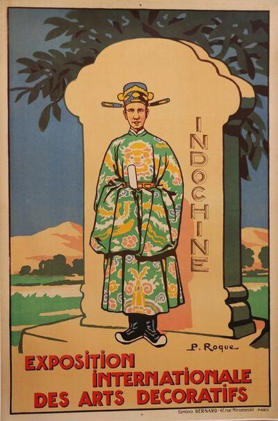 """Roque, 'Poster for the """"Exposition Internationale Des Arts Décoratifs"""", France, 1925', 1925"""