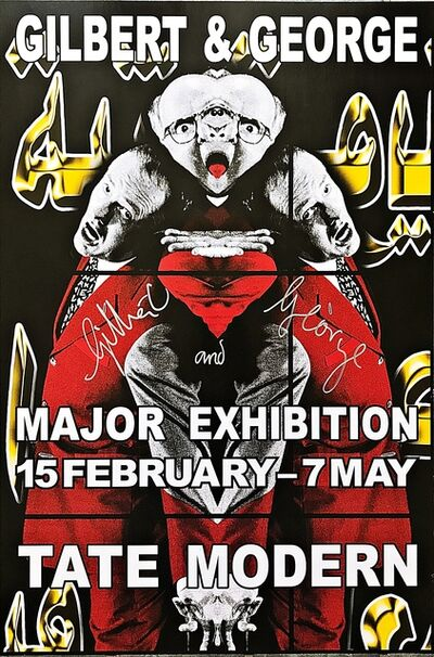 Gilbert and George, 'Gilbert and George Major Exhibition, Tate Modern (Hand Signed)', 2007