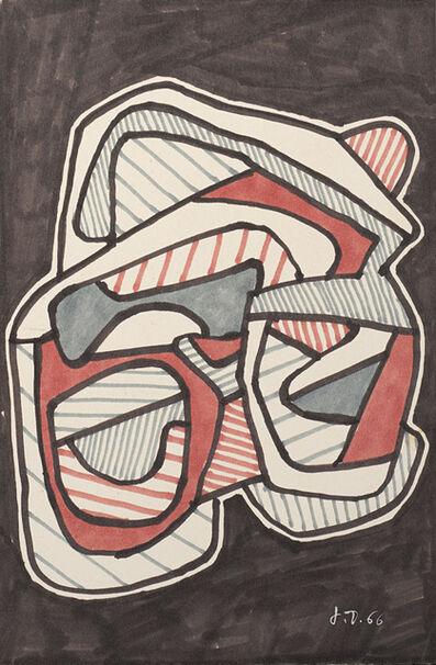 Jean Dubuffet, 'Les lunettes', 1966