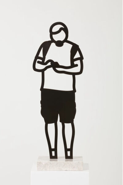 Julian Opie, 'Cargo Shorts from the Boston Statuettes', 2020