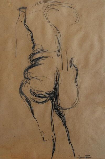 Philip Guston, '(Standing Nude)'