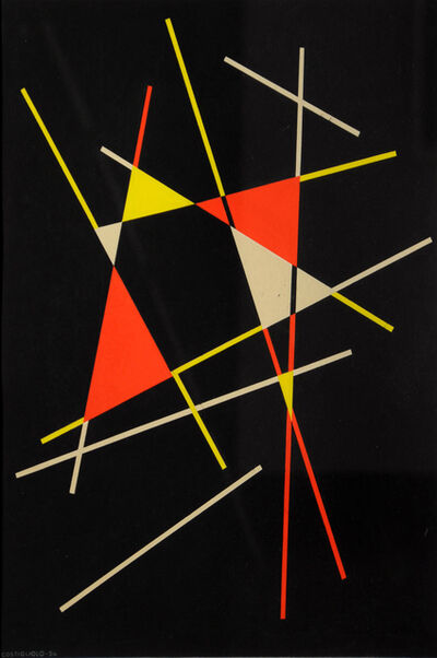 José Pedro Costigliolo, 'Untitled Composition', 1954