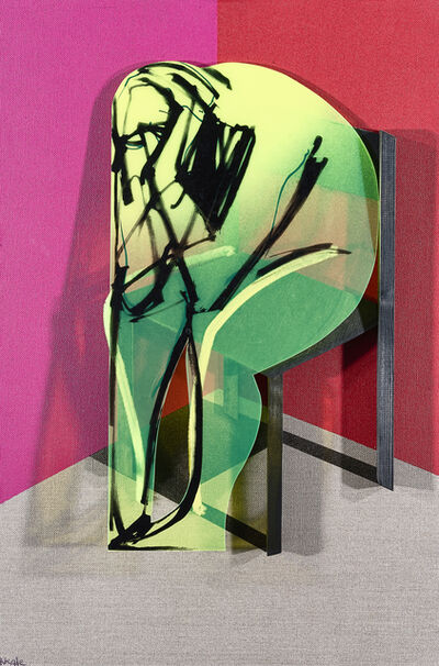 Adam Neate, 'The Black Chair', 2012