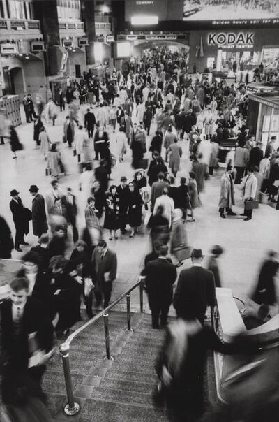 Alfred Eisenstaedt, 'Commuters at Grand Central Station, New York'