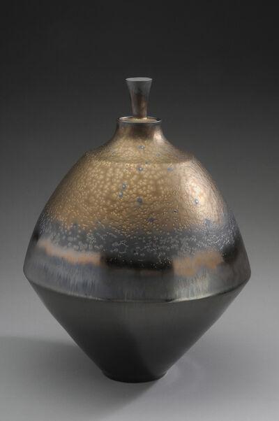 Hideaki Miyamura, 'Jar, bonze and black glaze', 2019