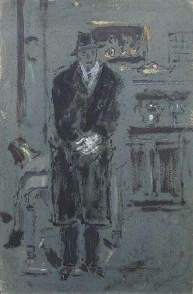 Filippo De Pisis, 'Man with coat', made in 1932