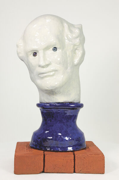 Robert Arneson, 'Blue Eyes', 1991
