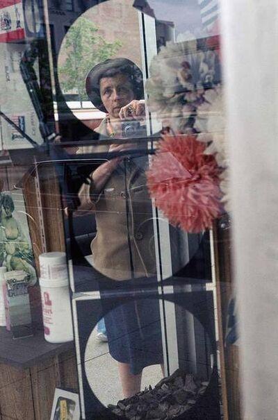 Vivian Maier, 'VM1978K05244-08-MC -Untitled, 1978 Self portrait in mirror, color ', 1978